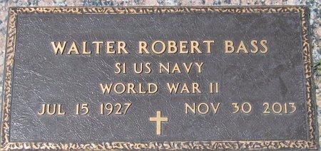 BASS, WALTER ROBERT - Maricopa County, Arizona   WALTER ROBERT BASS - Arizona Gravestone Photos