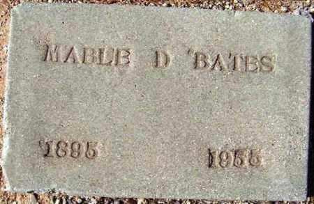 WALLACE BATES, MABLE RUTH - Maricopa County, Arizona | MABLE RUTH WALLACE BATES - Arizona Gravestone Photos
