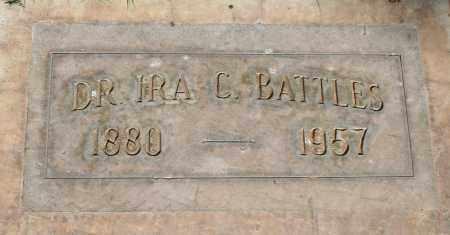 BATTLES, IRA C. - Maricopa County, Arizona | IRA C. BATTLES - Arizona Gravestone Photos