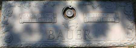 BAUER, ESSIE G. - Maricopa County, Arizona | ESSIE G. BAUER - Arizona Gravestone Photos