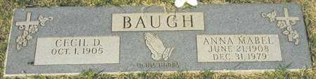 BAUGH, CECIL D. - Maricopa County, Arizona | CECIL D. BAUGH - Arizona Gravestone Photos