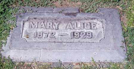 BAUM, MARY ALICE - Maricopa County, Arizona   MARY ALICE BAUM - Arizona Gravestone Photos