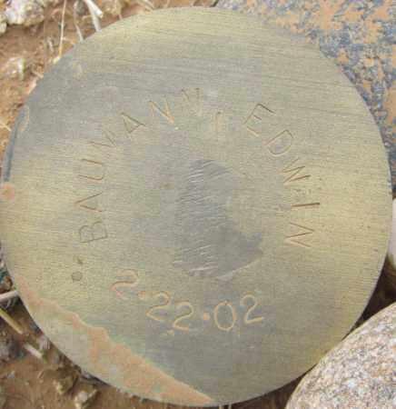 BAUMANN, EDWIN - Maricopa County, Arizona   EDWIN BAUMANN - Arizona Gravestone Photos