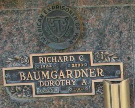 BAUMGARDNER, RICHARD C - Maricopa County, Arizona | RICHARD C BAUMGARDNER - Arizona Gravestone Photos