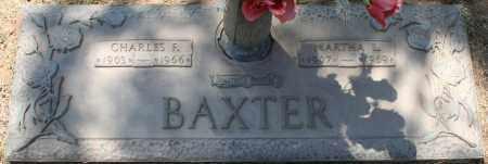 BAXTER, CHARLES F. - Maricopa County, Arizona | CHARLES F. BAXTER - Arizona Gravestone Photos