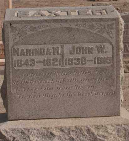 BAZTER, JOHN W - Maricopa County, Arizona | JOHN W BAZTER - Arizona Gravestone Photos