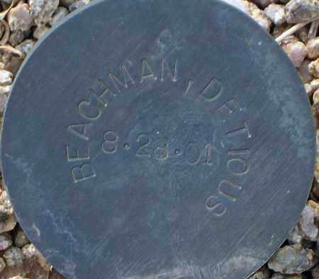 BEACHMAN, DETIOUS - Maricopa County, Arizona | DETIOUS BEACHMAN - Arizona Gravestone Photos