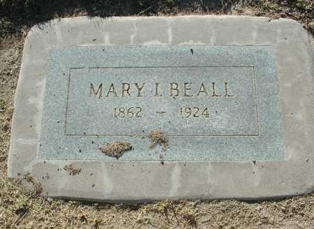 BEALL, MARY I. - Maricopa County, Arizona | MARY I. BEALL - Arizona Gravestone Photos