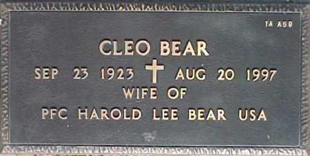 BEAR, CLEO - Maricopa County, Arizona | CLEO BEAR - Arizona Gravestone Photos