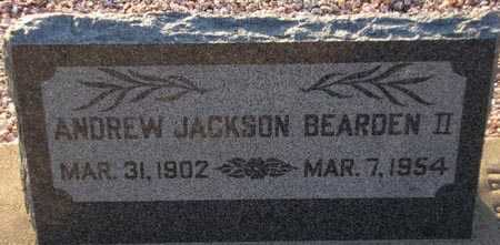BEARDEN, ANDREW JACKSON, II - Maricopa County, Arizona | ANDREW JACKSON, II BEARDEN - Arizona Gravestone Photos