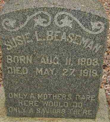 BEASEMAN, SUSIE L. - Maricopa County, Arizona | SUSIE L. BEASEMAN - Arizona Gravestone Photos