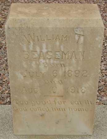 BEASEMAN, WILLIAM T. - Maricopa County, Arizona | WILLIAM T. BEASEMAN - Arizona Gravestone Photos