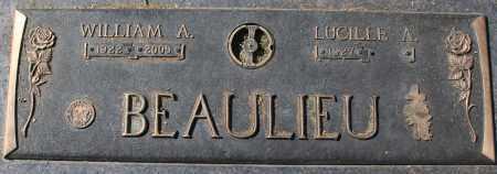 BEAULIEU, LUCILLE A - Maricopa County, Arizona | LUCILLE A BEAULIEU - Arizona Gravestone Photos
