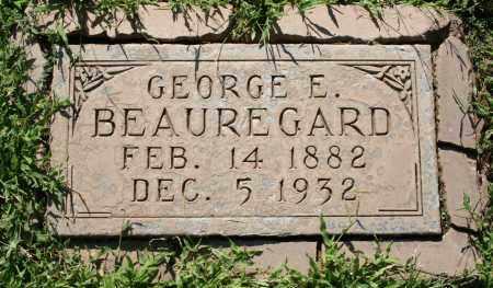 BEAUREGARD, GEORGE EDWARD - Maricopa County, Arizona   GEORGE EDWARD BEAUREGARD - Arizona Gravestone Photos