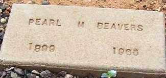 BEAVERS, PEARL M. - Maricopa County, Arizona | PEARL M. BEAVERS - Arizona Gravestone Photos
