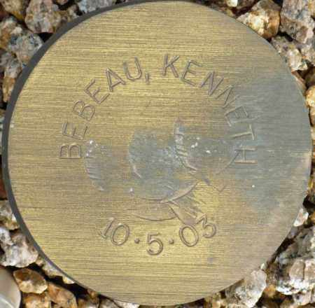 BEBEAU, KENNETH - Maricopa County, Arizona | KENNETH BEBEAU - Arizona Gravestone Photos