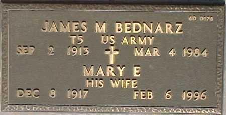 BEDNARZ, MARY E. - Maricopa County, Arizona | MARY E. BEDNARZ - Arizona Gravestone Photos