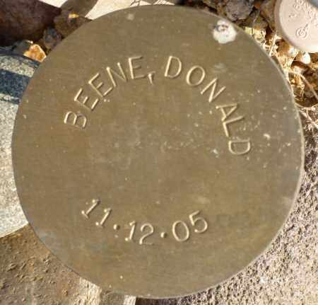 BEENE, DONALD - Maricopa County, Arizona | DONALD BEENE - Arizona Gravestone Photos