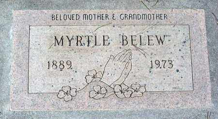 BELEW, MYRTLE - Maricopa County, Arizona | MYRTLE BELEW - Arizona Gravestone Photos