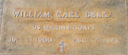 BELKA, WILLIAM CARL - Maricopa County, Arizona | WILLIAM CARL BELKA - Arizona Gravestone Photos