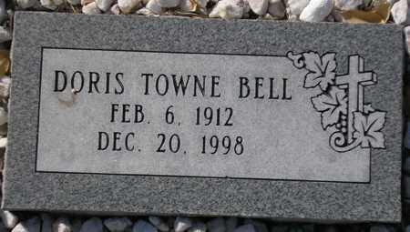 BELL, DORIS TOWNE - Maricopa County, Arizona | DORIS TOWNE BELL - Arizona Gravestone Photos