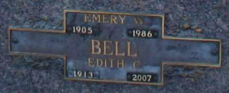 BELL, EMERY W - Maricopa County, Arizona   EMERY W BELL - Arizona Gravestone Photos