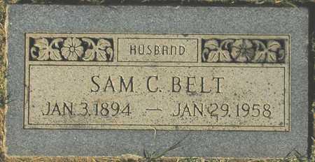 BELT, SAM C. - Maricopa County, Arizona | SAM C. BELT - Arizona Gravestone Photos