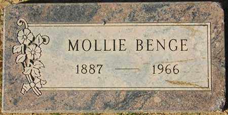 BENGE, MOLLIE - Maricopa County, Arizona | MOLLIE BENGE - Arizona Gravestone Photos
