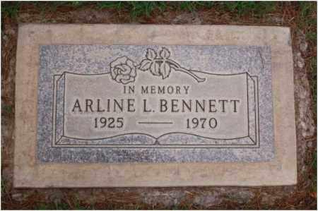 BENNETT, ARLINE LOIS - Maricopa County, Arizona | ARLINE LOIS BENNETT - Arizona Gravestone Photos