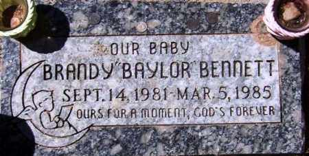 BENNETT, BRANDY (BAYLOR) - Maricopa County, Arizona | BRANDY (BAYLOR) BENNETT - Arizona Gravestone Photos