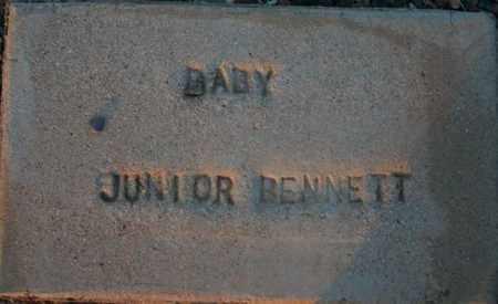 BENNETT, BABY JUNIOR - Maricopa County, Arizona   BABY JUNIOR BENNETT - Arizona Gravestone Photos