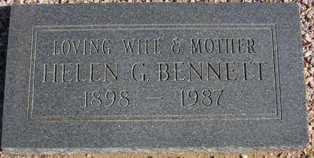 BENNETT, HELEN G. - Maricopa County, Arizona   HELEN G. BENNETT - Arizona Gravestone Photos