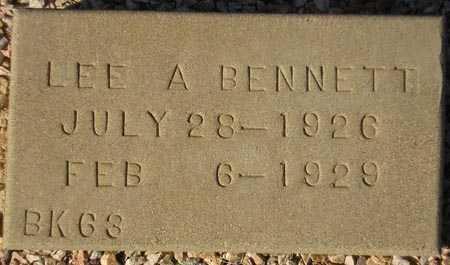 BENNETT, LEE A. - Maricopa County, Arizona | LEE A. BENNETT - Arizona Gravestone Photos