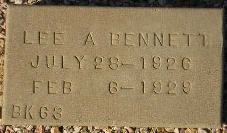 BENNETT, LEE A. - Maricopa County, Arizona | LEE A. BENNETT - Arizona Gravestone Photos
