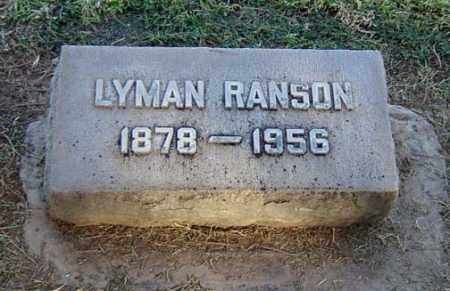 BENNETT, LYMAN RANSON - Maricopa County, Arizona   LYMAN RANSON BENNETT - Arizona Gravestone Photos