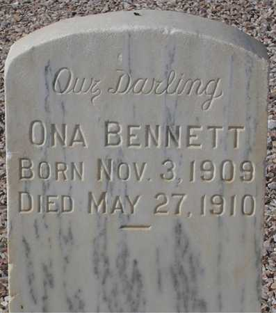 BENNETT, ONA - Maricopa County, Arizona | ONA BENNETT - Arizona Gravestone Photos