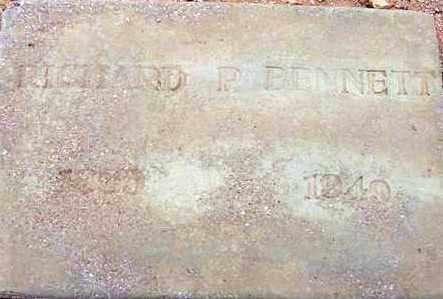 BENNETT, RICHARD P. - Maricopa County, Arizona | RICHARD P. BENNETT - Arizona Gravestone Photos