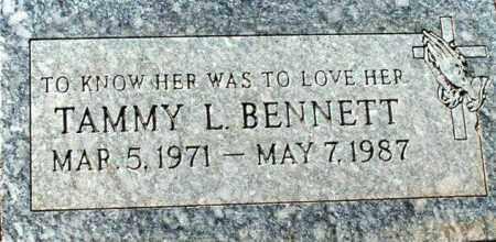 BENNETT, TAMMY L. BENNETT - Maricopa County, Arizona | TAMMY L. BENNETT BENNETT - Arizona Gravestone Photos