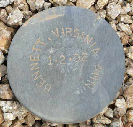 BENNETT, VIRGINIA ANN - Maricopa County, Arizona | VIRGINIA ANN BENNETT - Arizona Gravestone Photos