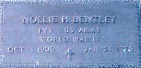 BENTLEY, NOLLIE H. - Maricopa County, Arizona | NOLLIE H. BENTLEY - Arizona Gravestone Photos