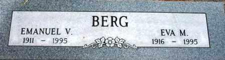 BERG, EMANUEL V. - Maricopa County, Arizona | EMANUEL V. BERG - Arizona Gravestone Photos