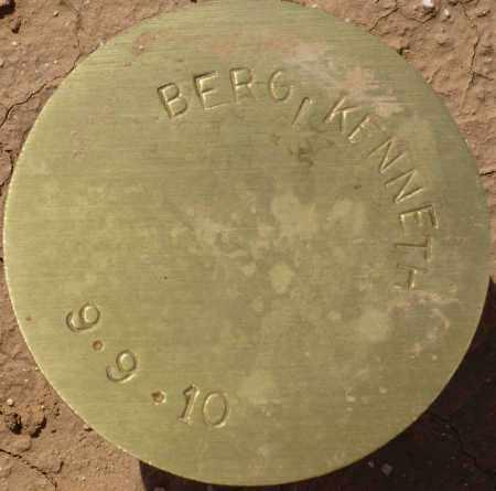 BERG, KENNETH - Maricopa County, Arizona | KENNETH BERG - Arizona Gravestone Photos
