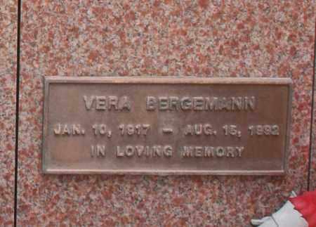 BERGEMANN, VERA - Maricopa County, Arizona | VERA BERGEMANN - Arizona Gravestone Photos