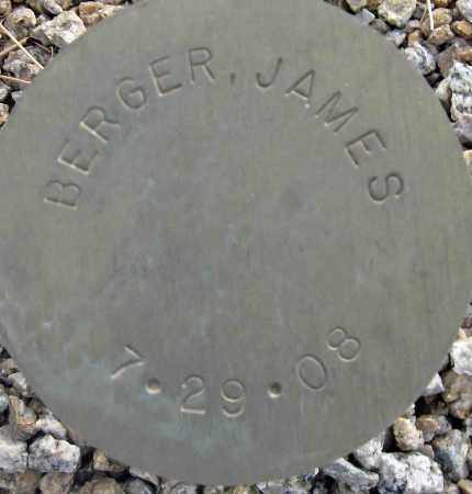 BERGER, JAMES - Maricopa County, Arizona | JAMES BERGER - Arizona Gravestone Photos