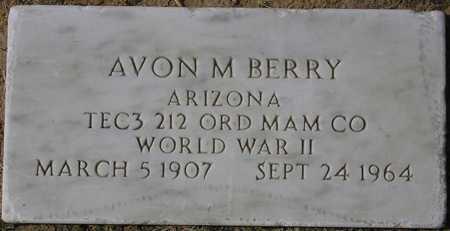 BERRY, AVON M. - Maricopa County, Arizona | AVON M. BERRY - Arizona Gravestone Photos
