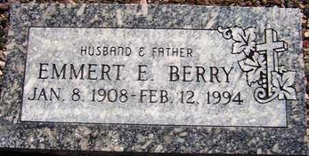 BERRY, EMMERT E. - Maricopa County, Arizona | EMMERT E. BERRY - Arizona Gravestone Photos