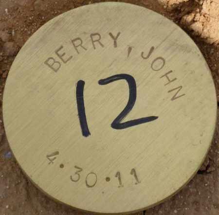 BERRY, JOHN - Maricopa County, Arizona | JOHN BERRY - Arizona Gravestone Photos