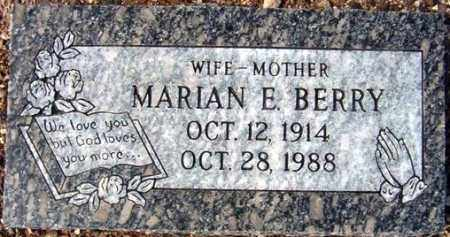 BERRY, MARIAN E. - Maricopa County, Arizona | MARIAN E. BERRY - Arizona Gravestone Photos