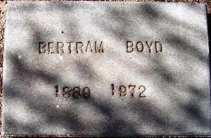 BOYD, BERTRAM - Maricopa County, Arizona | BERTRAM BOYD - Arizona Gravestone Photos