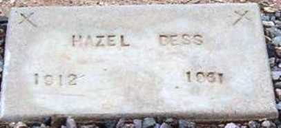 BESS, HAZEL - Maricopa County, Arizona | HAZEL BESS - Arizona Gravestone Photos